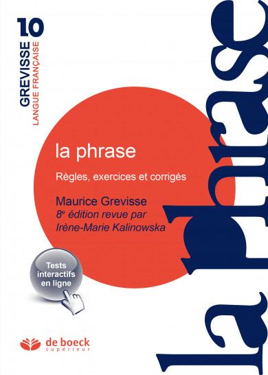 La phrase   Grevisse.fr